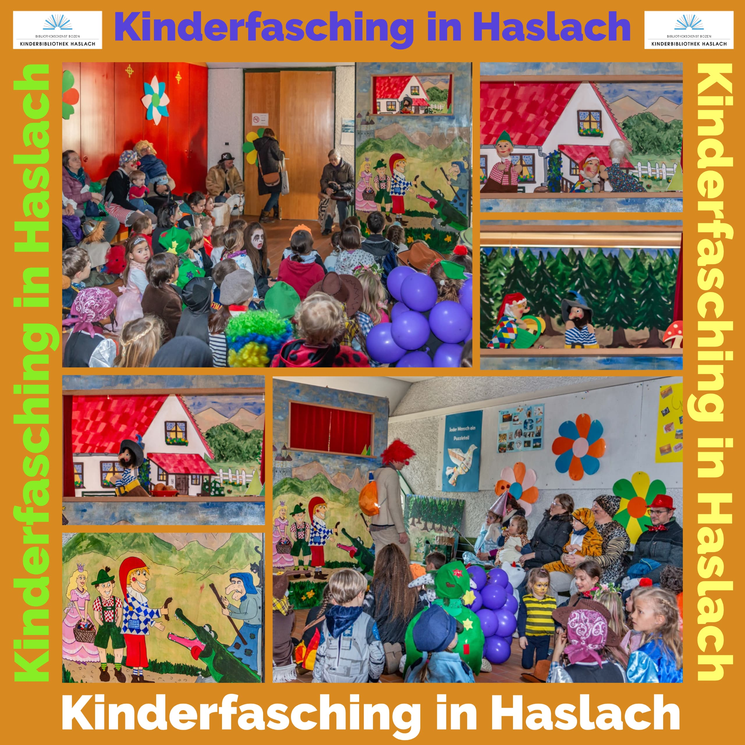 Kasperltheater beim Kinderfasching in Haslach